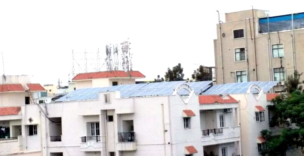 This residential society in Madhapur reduced its electricity bills to ZERO, you too can!