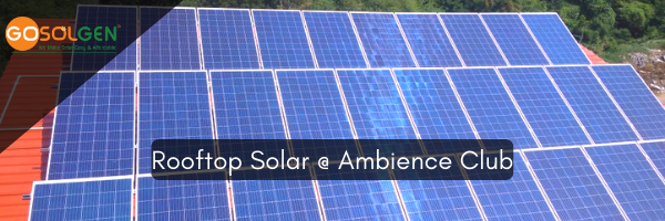 Solar Success Story – Ambience Club