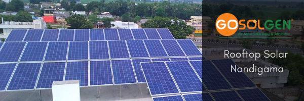 Gosolgen Installed Solar Panels at this house in Ithavaram, Nandigama, Andhra Pradesh.