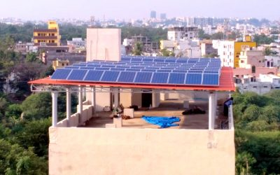 30KW at a Clubhouse in Attapur, Hyd